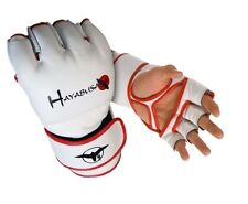 Hayabusa Official MMA Pro Boxing Gloves - Color: White, Size: Large/X-Large
