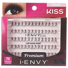 f3c83ba011e I Envy by Kiss Luxe Black Short 70 Individual Eyelashes # Kpe01b