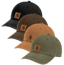 Carhartt Mens Odessa Cap Adjustable Hat - Carhartt Brown