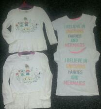 Twin Girls Tops Bundle 4-5 good clean Condition