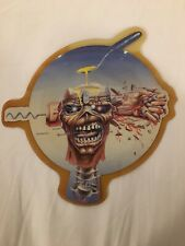 *Rare* Can I Play With Maddness Iron Maiden Picture Vinyl 1977