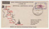 New Zealand 1953 London to Christchurch AIR RACE official Souvenir Cover