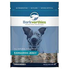 Barkworthies Natural Kangaroo Jerky Dog Chew 4oz