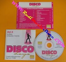 CD DISCO DAYS VOL 6 PROMO compilation 2002 BLONDIE JUNIOR JAMES BROWN (C37*)