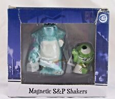 Disney Monsters Inc Sulley & Mike Magnetic Salt & Pepper Shakers, Westland, New