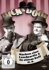 DVD * DICK & DOOF - MACHEN EINE LANDPARTIE & IN EINEM BETT U.A. # NEU OVP /