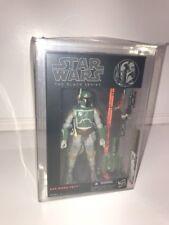 "Hasbro Star Wars BLACK Series 6"" inch Boba FETT AFA U 85/85/90"