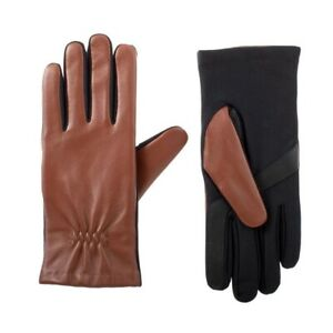 Isotoner Women's Stretch Leather Gloves - A30357