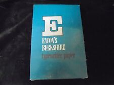 Vintage EATON'S BERKSHIRE TYPWRITING PAPER WHITE DW 16-3 8.5x13  25% Cotton