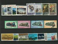 MNZ49) New Zealand 1973 Stamp Sets CTO/Used