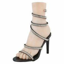 Stiletto Textured Synthetic Evening & Party Heels for Women