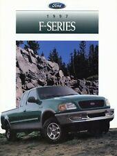 0085FO Ford F-Series Prospekt USA 1997 F-150 F-250 brochure catalog broschyr