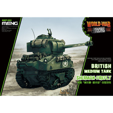 MENG WORLD WAR TOONS: British Medium Tank Sherman-Firefly (CARTOON MODEL)