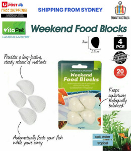 VitaPet Weekend Food Blocks Automatically Feed Fish Slow Release
