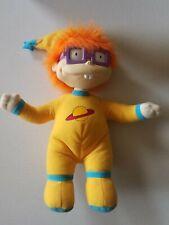 "Vtg Mattel RUGRATS 10"" Chuckie in Pajamas Plush Doll 1997"