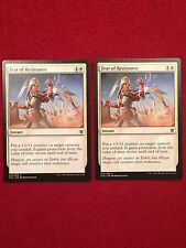 MTG X2 Feat of Resistance Khans of Tarkir Magic the Gathering White Cards
