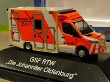 1/87 Rietze GSF RTW´18 Johanniter Oldenburg 76225