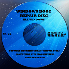 WINDOWS 10 REPAIR RECOVERY BOOT DISC