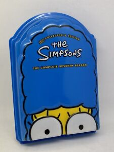 The Simpsons Complete Seventh Season Series Collectors Edition DVD - VGC R4