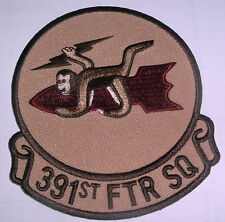 AMERICAN PATCHES-UNITED STATES AIR FORCE 391st FIGHTER SQUADRON RARE DESERT