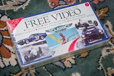 Classic & Sports Car Film Collection Vol. 1 VHS Tape –Motor Sport, VSCC Etc