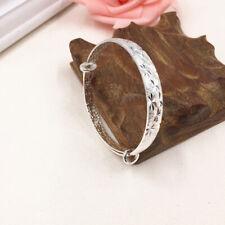 Spark Pattern Women Trendy Bracelets Adjustable Textured Bangle Bracelet ONE