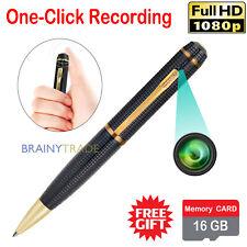 HD 1080P Spy Hidden Camera Pen Digital Security Video Recorder Recording 16GB