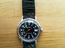 VINTAGE MILITARY TIMEX GREAT BRITAIN, DATE, GOOD WORKING ORDER & CONDITION 1980