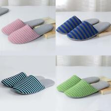Fine el Slippers Men Spa Guest Women Travel Shoes Portable Folding One Size AU