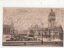 Koeln Am Rhein Hauptbahnhof Germany 1917 Postcard 945a