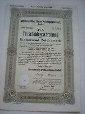 Deutschland - Deutsche Niles Werke AG   1/254-1