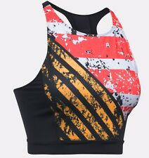 Under Armour UA Women's Mirror Printed Crop Top - S (10) - Black