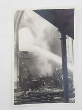 More details for ww2 blitz original real photograph holy trinity church hounslow firefighters 1