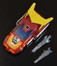 Vintage Rare G1 TRANSFORMERS HASBRO 1986 Autobots Car HOT ROD 100% COMPLETE NR