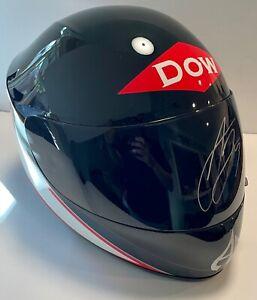 Austin Dillon NASCAR DOW Auto Signed Auto Race Full Size Helmet DG COA
