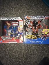Transformers Prime Voyager Class Predaking And Thundertron Set MISB Hasbro 2013