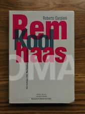 Rem Koolhaas / OMA : Essays in Architecture (VERY RARE - Out of Print - SCARCE)