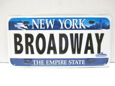 New York Magnet Broadway Car Plate Empire State, Souvenir USA