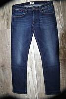 joli jeans denim court homme HILFIGER DENIM modèle ronnie  taille W34 L28