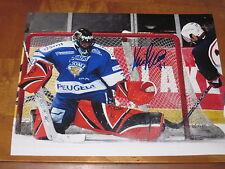 8x10 Karri Ramo Auto Photo #2 Signed Tampa Bay Lightning Autographed Photo Autographs-original Hockey-nhl
