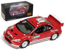 IXO RAM183 Peugeot 307 WRC Rally Sweden 2005 - M Martin 1/43 Scale