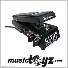 Fulltone Clyde Wah Wah Deluxe Guitar Pedal - NEW - Free Ship/Gift
