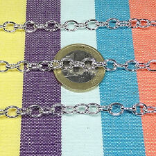 Chain Chain Chain Cadeia Silver Catena 11 6/12ft Chain Silver 0 3/16in A145