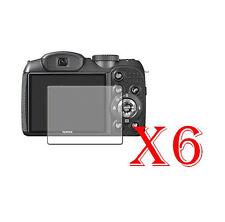6 PZ PELLICOLA PROTEZIONE DISPLAY Fujifilm FinePix S2980 PROTEGGI SCHERMO LCD