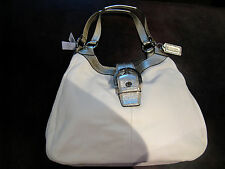 Coach Soho large handbag Women's genuine leather White purse $398 F17092