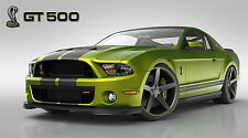 """SHELBY COBRA GT 500 MUSTANG FORD SVT  43"""" x 24"""" LARGE HD WALL POSTER PRINT """"NEW"""""""
