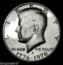 3-1976-S 50C Silver Proof Kennedy Half Dollars And Silver BU, Clad Proof All 3