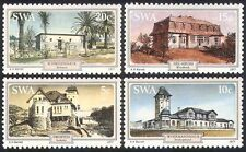 SWA/South West Africa 1977 Houses/Buildings/Architecture/Palm Trees 4v (sw10108)