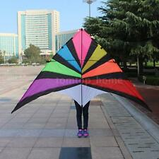 280*145cm Big Sail Kites Single Line Kite Triangle Delta-shape Kite Flyer M1Z4