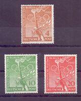 Berlin 1952 - Vor-Olympiade - MiNr. 88/90 postfrisch** - Michel 30,00 € (468)